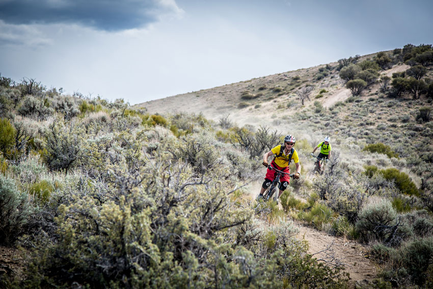 Practice on the high desert course. Photo by Called to Creation.