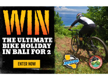 WIN The Ultimate Bike Holiday for 2 in Bali