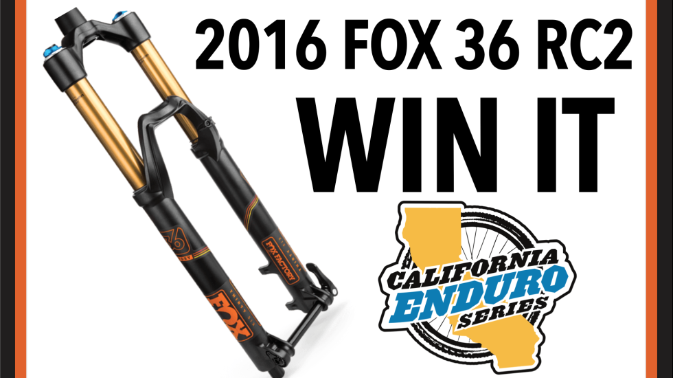 WIN A 2016 FOX 36 RC2 Fork – One Drawn At Each Race