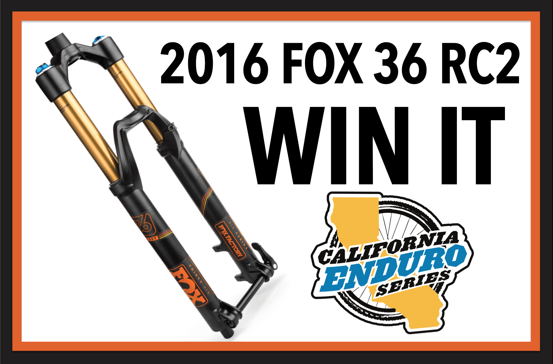 WIN A 2018 FOX 36 Fork – One Drawn At Each Race