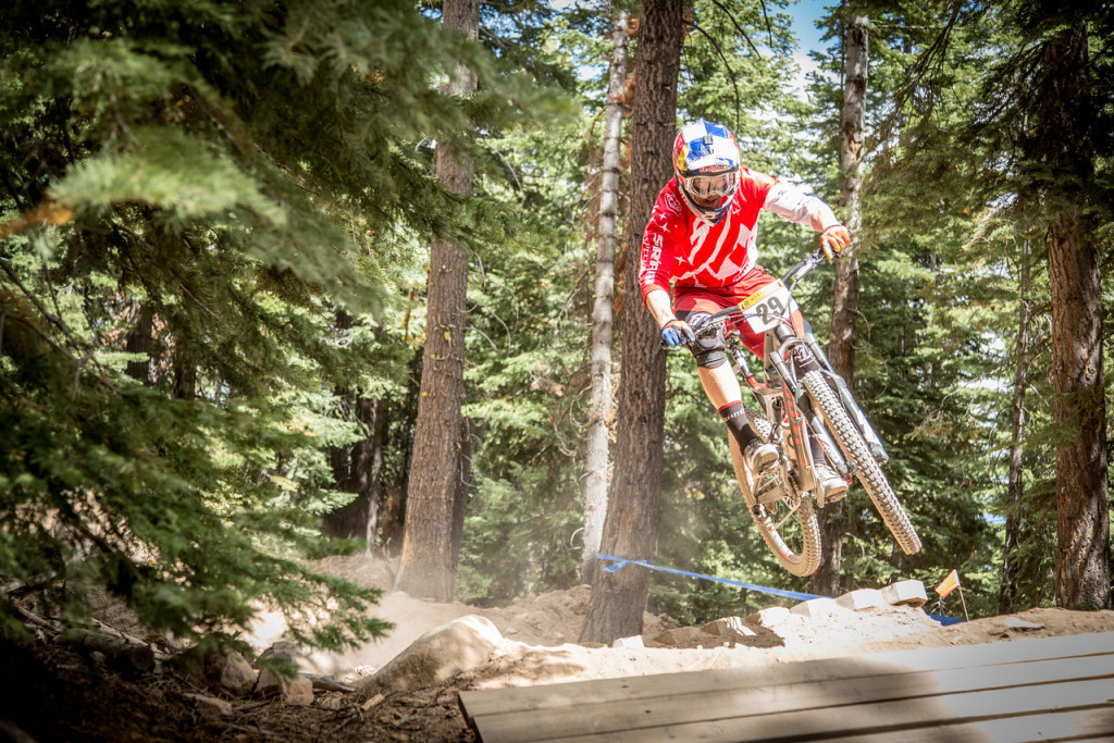 After ten years dominating downhill mountain biking Curtis Keene dove into the enduro scene in 2012. He displayed plenty of skill at the 2015 Northstar Enduro.
