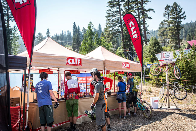 Clif Bar at the 2016 Northstar Enduro – round 6 of the California Enduro Series, and  the second round of the CES Golden Tour (Called To Creation).