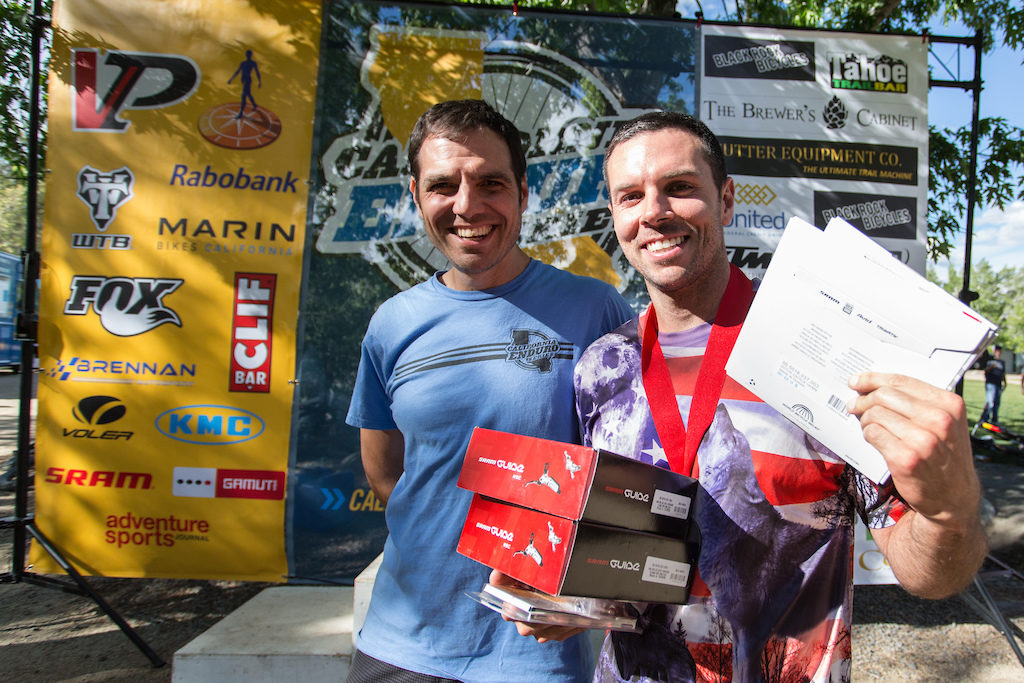 SRAM also pitched in once again, giving away a set of guide brakes to one lucky winner per event. Photo: Called to Creation.
