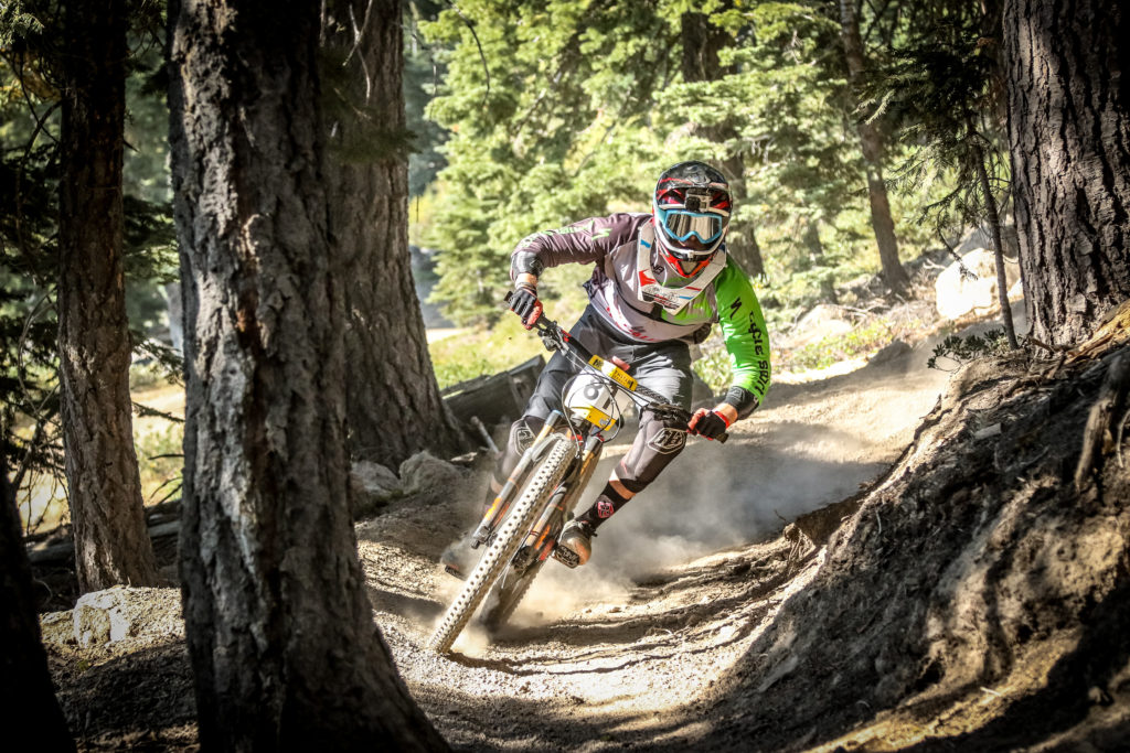 Nicholas Gallizioli at the Northstar Enduro. Photo: Called to Creation.