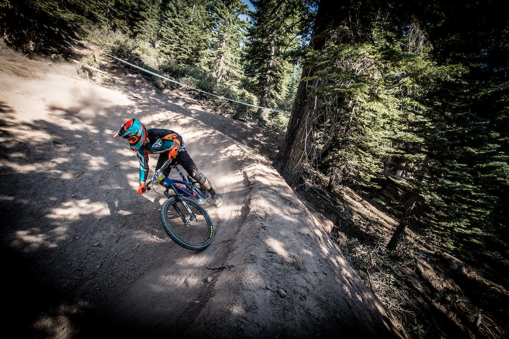 Blaise Janssen at the Northstar Enduro. Photo: Called to Creation.