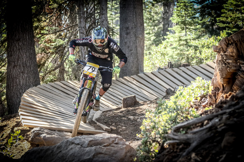 Paul Serra at the Northstar Enduro. Photo: Called to Creation.