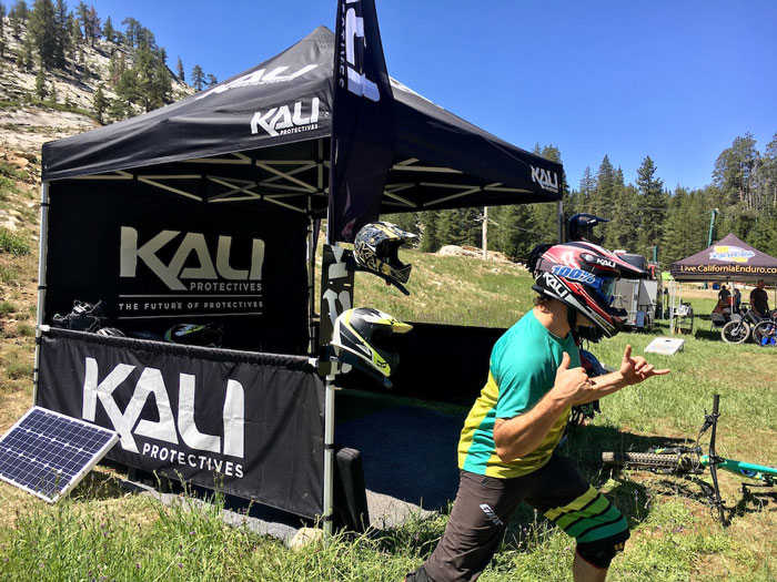 Kali Road Warrior Hits Up China Peak for CES Golden Tour Kickoff